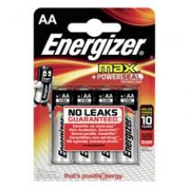 BATTERI ENERGIZER MAX AA/LR6 4-PACK