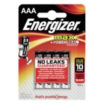 BATTERI ENERGIZER MAX AAA/LR03 4-PACK