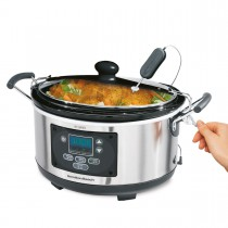 Slow Cooker Hamilton Beach Set 'n Forget® Programmerbar